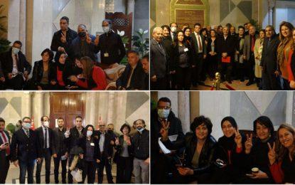 Solidarité avec les députés en sit-in à l'Assemblée, contre la violence, l'obscurantisme et l'impunité (Photo)