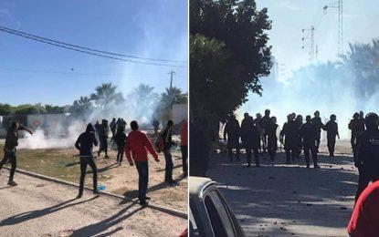 Chebba : Reprise des affrontements entre la police et les supporteurs du CSC