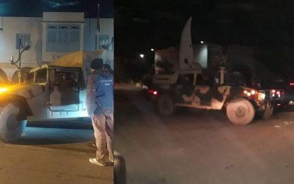 Des unités militaires déployées à Chebba