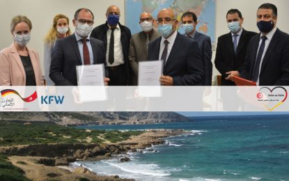 Banque allemande de développement : 15 millions d'euros pour la protection du littoral Tunisien