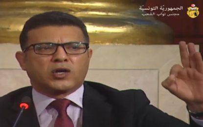 Rahoui aux députés Ennahdha : «Vous voulez vous faire passer pour des victimes ? C'est vous les terroristes!»