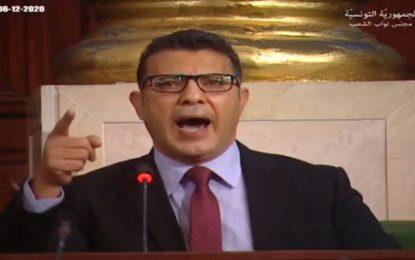 Rahoui : «A cause de Ghannouchi, la Tunisie est devenue un immense cimetière !»