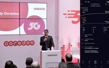 Ooredoo atteint 2,2 Gbps dans son premier essai 5G