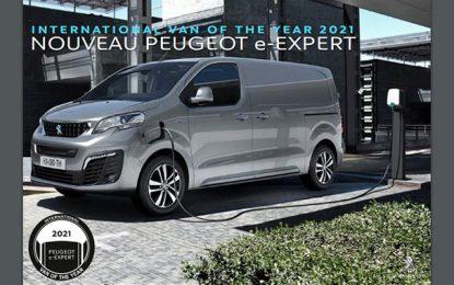 Le nouveau Peugeot e-Expert : International Van Of The Year 2021