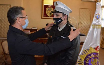 Attaque d'Akouda : Rami Limam promu Adjudant-chef de la garde nationale