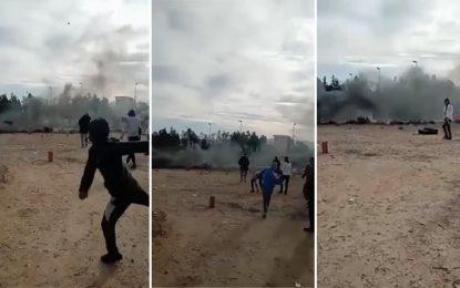 Kasserine : Tirs de sommation pour disperser des manifestants qui ont tenté de s'introduire au siège de la Sergaz