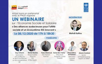 Attijari organise un webinaire sur l'écosystème ESS innovant