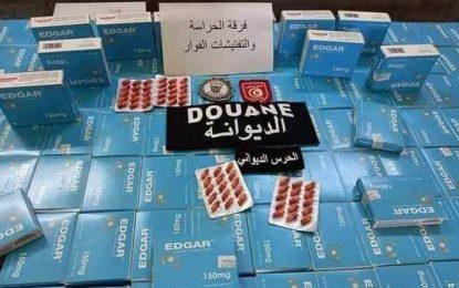 Trafic de médicaments : Plus de 4.000 antiépileptiques saisis à Kébili