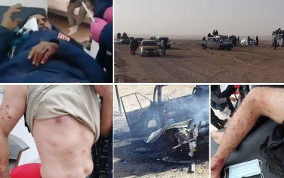 De nombreux blessés dans une violente bagarre entre deux clans de Douz et de Béni Khedache (Photos)