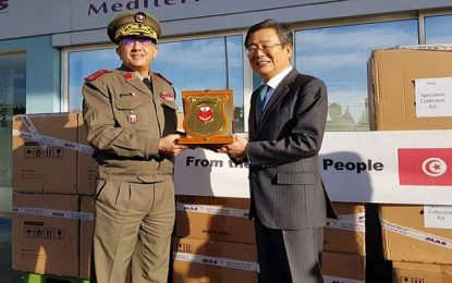 Coronavirus : La Corée du sud fait don à la Tunisie de kits de tests d'une valeur de 300.000$