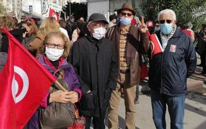«La dignité des tunisiennes est une ligne rouge» : Rassemblement devant l'Assemblée contre l'obscurantisme et les propos haineux de Affes
