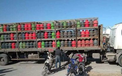 Gabès : Un camionneur blessé lors du braquage de son véhicule, transportant des bouteilles de gaz