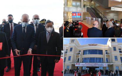 Saïed à Sfax pour inaugurer le nouvel hôpital universitaire (Photos)