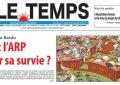 Un dessin du caricaturiste Z «volé» et censuré par le quotidien Le Temps