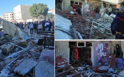 Explosion dans une pizzeria à Kairouan : Il s'agit d'une fuite de gaz (photos)