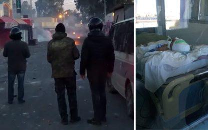Kasserine : Reprise des heurts après une rumeur sur le décès d'un jeune blessé lors des manifestations à Sbeïtla