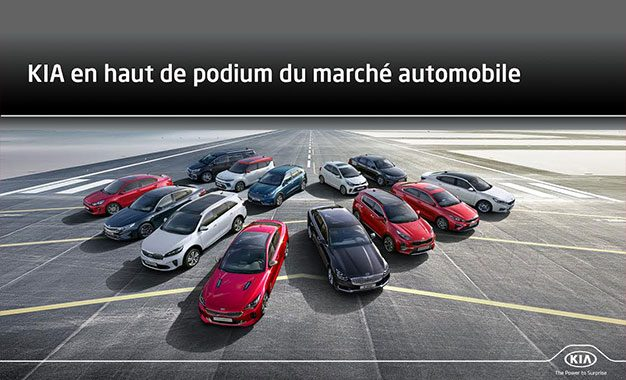Kia en haut de podium du marché automobile tunisien