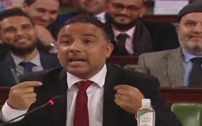 Makhlouf profite de la plénière pour régler ses compte avec les syndicats, les partis de l'opposition, les médias et Kaïs Saïed