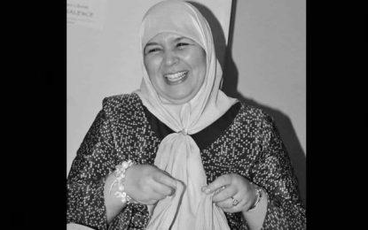 Meherzia Laabidi sera accompagnée à sa dernière demeure, dimanche, à Grombalia