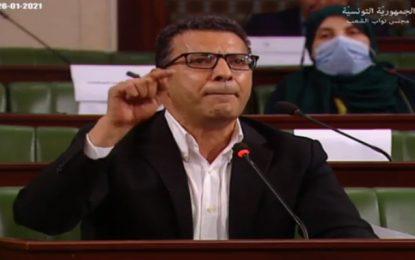 Mongi Rahoui demande à suspendre la plénière «jusqu'à la levée de l'encerclement des manifestants»