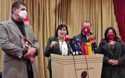 Moussi : «Les violences nocturnes sont orchestrées par des partis islamistes qui veulent impliquer Saïed pour l'exclure»