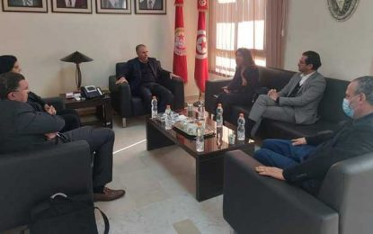 Affaire Karoui : Les dirigeants Qalb Tounes s'entretiennent avec l'UGTT