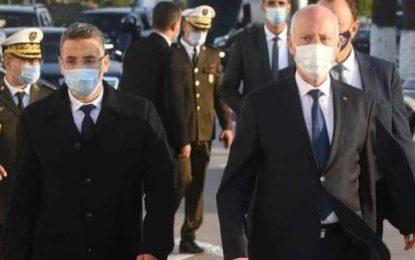 Hichem Mechichi limoge le ministre de l'Intérieur Taoufik Charfeddine