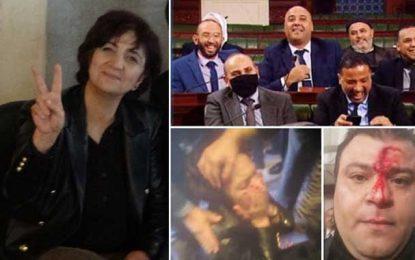 Samia Abbou en grève de la faim jusqu'à ce que le président de l'Assemblée dénonce la violence