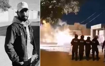 Sbeïtla : Heurts avec la police après le décès de Haikel, blessé la semaine dernière lors des manifestations