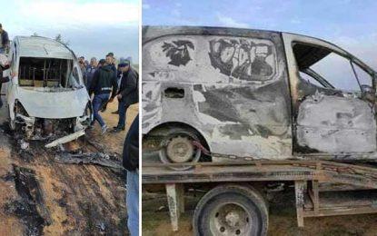 Sfax : Le corps d'un homme retrouvé calciné dans sa voiture