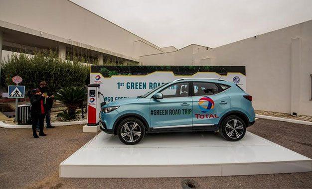 Total Tunisie et MG Motors organisent un «Road Trip» 100% électrique