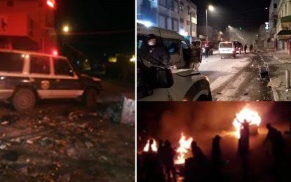 Tunisie : Violences, grabuges et heurts dans différents gouvernorats du pays (Photos)