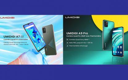 Umidigi A9 Pro et Umidigi A7 lancé sur le marché tunisien