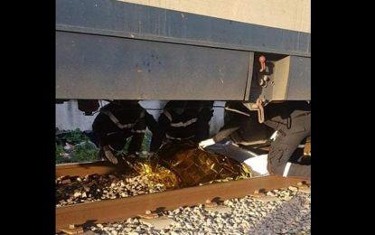 Béja : Décès d'un homme renversé par un train
