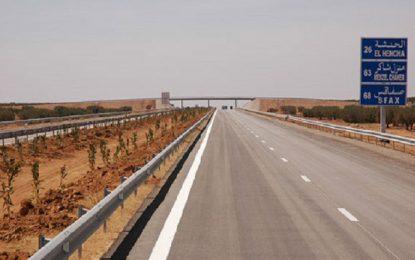 Autoroute Tunis-Sfax : Déviation de la circulation au niveau de l'échangeur de Borjine