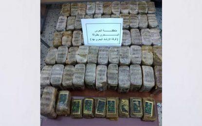 Plus de 32 kg de cannabis saisis à Tabarka