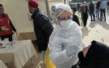 Tunisie : 780 cas positifs sur 4483 tests de dépistage du coronavirus