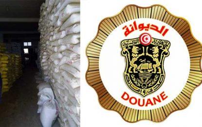 Contrebande : Saisie de 141 tonnes de produits alimentaires à Kélibia