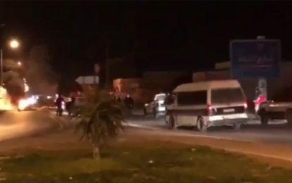 Heurts avec la police à Sousse, Nabeul et à Kasserine