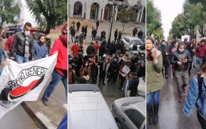 Marche à Tunis : Appel à libérer les jeunes arrêtés