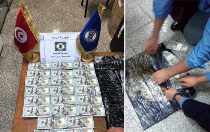 Aéroport de Tunis-Carthage : Un voyageur arrêté en possession de 220.000 dollars