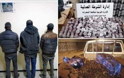 Démantèlement d'un réseau de trafic de drogue opérant dans le sud tunisien