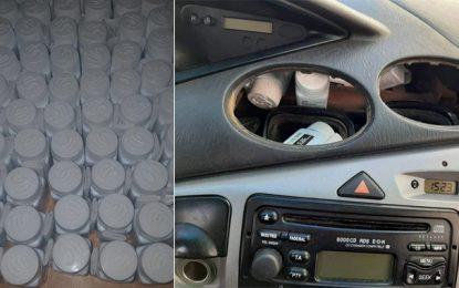 Trafic de médicaments : Saisie de 11.200 pilules de corticostéroïdes à Sfax