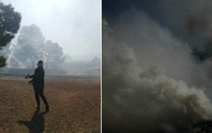 Kasserine : Reprise des heurts entre la police et les sit-inneurs du site pétrolier Douleb
