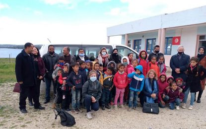 Action citoyenne contre l'abandon scolaire à l'école primaire El-Mnasria à Sejnane