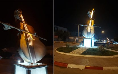 Ezzahra : Une installation au rond-point Farhat Hached «pour honorer les artistes»