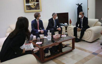 Engagement de la coopération allemande en faveur de la région de Kasserine