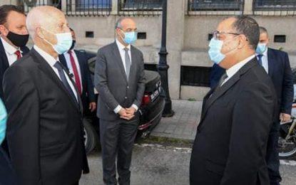 A propos de la visite inopinée du président Saïed au ministère de l'Intérieur (Vidéo)