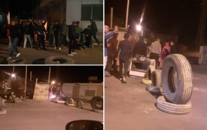 Tataouine : Manifestations nocturnes et routes fermées pour soutenir le mouvement El-Kamour (Photos)