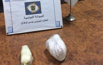 Trafic de cocaïne : Quatre individus arrêtés à l'aéroport de Tunis-Carthage